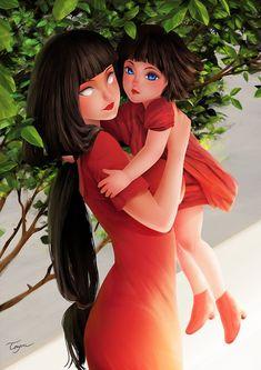 Hinata, himawari, naruto, next generation boruto Hinata Hyuga, Naruhina, Naruto Y Boruto, Naruto Oc, Naruto Girls, Shikamaru, Sasuke, Anime Girls, Anime Naruto