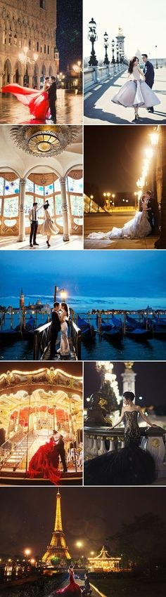 The Most Romantic Getaway! 35 Breathtaking Europe Pre-wedding Photos