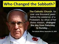 """Nimrod is the origins of Baal Worship and Sol invictus (Pagan Roman Sun God"""" who was introduced into the Catholic Church via Constantine."""