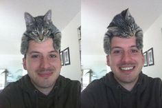 Cat hat ~ All right, Kitteh.  I LOVE how it is sleeping in the second photo