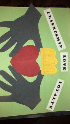 IRELAND - Irish Claddagh craft, kids love when you trace their hands. Preschool Crafts, Preschool Activities, Crafts For Kids, Craft Kids, Spring Activities, Infant Activities, Kids Diy, 7 Arts, Around The World Theme