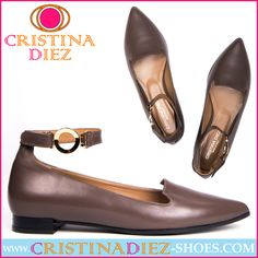 The Belted is a reinvented classic that looks wonderful with skirts and dresses. Its faux gold buckle adds a very feminine touch. The main characteristic is its versatility as it does really look chic with anything you pair it with. Price: £150.00 - www.cristinadiez-shoes.com #Shoes #slipper #Trendy #Fashion #Design #fashionable #style #Shopping #Buy #Lady #Chic #photo #picoftheday #Casual #luxe #cool #london #online #store #loveit