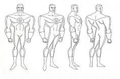 Cartoon Concept Design: Batman The Animated Series Model
