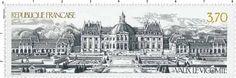 Timbre : 1989 VAUX LE VICOMTE | WikiTimbres