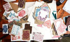 Katharine Watson - beautiful block prints
