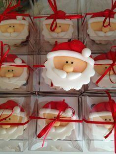cupcakes papai noel - Pesquisa Google