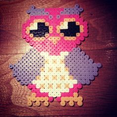 Owl hama perler beads by ennairamiplik