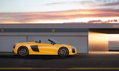 Audi R8 Spyder Is the Open-Top Performance Sports Car