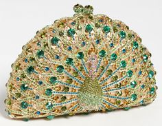 Natasha Couture Peacock Evening Clutch, $298 at Nordstrom.