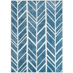 Anji Mountain Alder Blue 9 ft. x 12 ft. Area Rug-AMB0614-0912 - The Home Depot