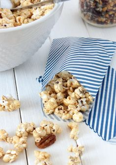 For a sweet treat that your family will love snacking on—check out this recipe for Honey and Cinnamon Caramel Popcorn! Make a batch of this delicious crunchy snack for your next movie night.
