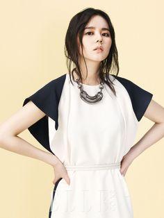 Han Ga-in // Elle Korea // April 2013