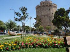 Θεσσαλονίκη | Thessaloniki - Macedonia - Greece Macedonia Greece, Greece Thessaloniki, Alexander The Great, Tourism, Beautiful Places, Tower, Travel, Passion, News