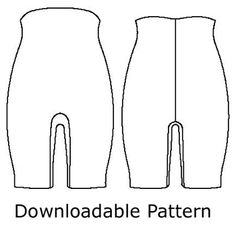 Purchase this easy pattern to make your own Body shaper, smoother.  They also have the power knit available!  And a great review at PatternReview.com