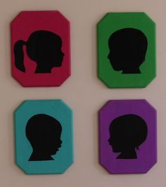 Vintage Silhouette Plaques | #DIY Craft Project | Directions available at Joann.com