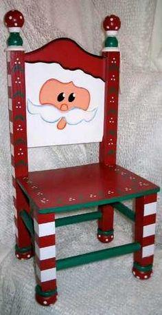 Mini Santa Chair