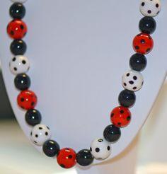Fun Jewelry Necklace & Bracelet glass beads by BarbsBurntTree