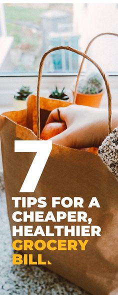 7 tips for a cheaper, healthier grocery bill Healthy Groceries, What You Eat, Number One, Shopping Hacks, Healthy Lifestyle, Budgeting, Healthy Eating, Eating Healthy, Life Hacks Shopping