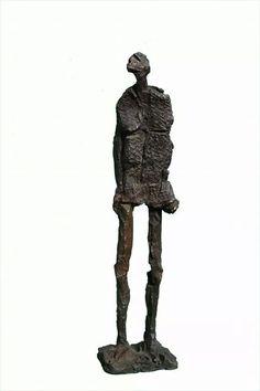 Home  africà en bronze / African man - bronze