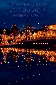 Travel | Pennsylvania | Christmas Lights | Holiday Lights | Christmas Displays | Holiday Displays | Christmas | Holiday Activities