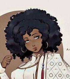 Girl Cartoon, Cartoon Art, Black Art, Cute Girls, Disney Characters, Fictional Characters, Disney Princess, Drawings, Anime
