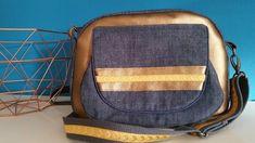 Taschenspieler4 Alltagsheldin Gold Leder