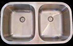 www.houzz.com/... Price: $452.00 seamless sink double bowl