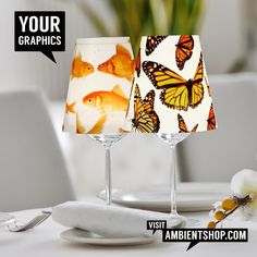 🔥 Windlichter mit persönlichem Motiv 🔥  Storm Laterns and customizable Designer Lamps / Lampenschirme selbst gestalten / eigene Fotos und Grafiken verwenden / Firmenlogos und Produktbranding We print your 📷Graphics or Corporate Logos & Colors  Just add a Tea Candle to start Teelichter oder LED`s / Use Candles or LED`s  webshop: 🛒www.bulbs-unlimited.com/webshop🛒 website: 🎯 www.ambientshop.com 🎯 Maxi Tee, Illustrator, Pinterest Instagram, Bulb, Products, Home Decor, Photos, Printing Process, Company Logo