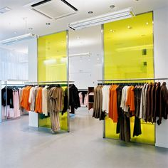 D.E.P.T. Fashion Store Always exciting to create the interior of a brand new fashion store. We went for a crisp and contemporary look, using carefully selected decorative features and smart furniture. The result is a boutique hotel atmosphere.