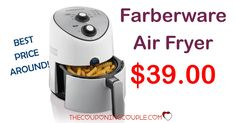 BEST PRICE! Farberware Air Fryer for only $39.00! It would be the perfect time to grab one! Free Store Pickup too!  Click the link below to get all of the details ► http://www.thecouponingcouple.com/farberware-air-fryer/ #Coupons #Couponing #CouponCommunity  Visit us at http://www.thecouponingcouple.com for more great posts!