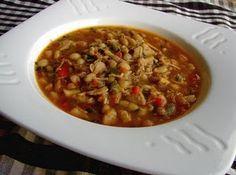 spicy white bean and chicken chili