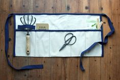 DIY: A Roll-Up Gardener's Tool Apron, from Gardenista