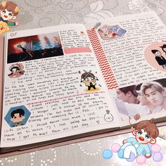 """594 Likes, 24 Comments - (@sxcxing) on Instagram: """"haven't posted from my suho planner in quite a while so here's a spread i just finished! • I don't…"""""""