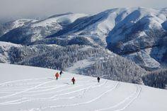 Ανακαλύψαμε ότι η Γαλλική Ριβιέρα είναι όμορφη και το Χειμώνα : A Ski Resort with Views of the Mediterranean Valberg.
