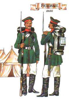 crimean war russian uniforms - Google Search