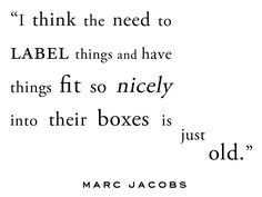 Marc Jacobs #quote. #Pinspirational