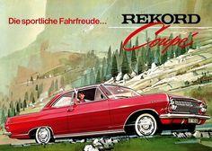 Opel Rekord Coupé, 1963