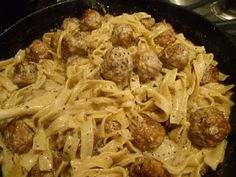 The Pioneer Woman: Meatballs Stroganoff