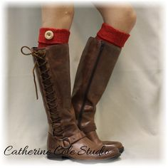 Boot cuff,boot socks cuff, Boot Toppers, boot cuffs, leg warmer, tall... via Polyvore