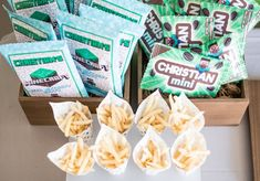 Custom-labeled Minecraft Party Snacks + Sweets from an Epic Minecraft Birthday Party on Kara's Party Ideas | KarasPartyIdeas.com (33)