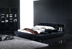 25 Elegant Black Bedroom Decorating Ideas