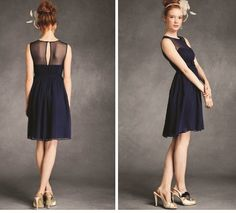 A navy blue lace dress can make you look more stunning when worn properly. Learn how to match a navy blue dress with other outfits here. Navy Blue Bridesmaid Dresses, Always A Bridesmaid, Navy Blue Dresses, Lace Bridesmaids, Short Dresses, Formal Dresses, Wedding Dresses, Navy Blue Cocktail Dress, Blue Lace
