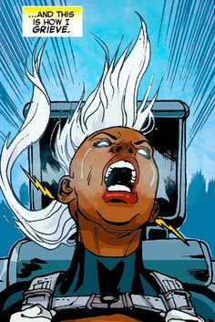 It… It was beautiful, Ororo. Logan would have...