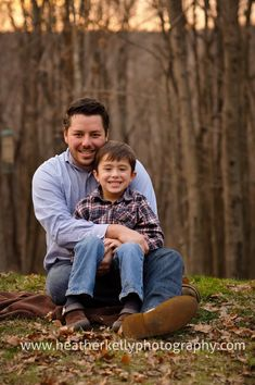 Father/son pose!...this little boy escaped sandy hook with 2 other kids; wiered that i saw his dad on tv