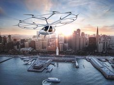 Passenger drones are here and Dubai is winning the sky taxi race! San Francisco, Drones, Transamerica Pyramid, Dubai, Paris Match, Flying Car, Drone Technology, Public Transport, Lonely Planet