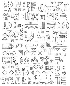 doodle.  Put any of these together and it immediately makes your own patterns#Repin By:Pinterest++ for iPad#