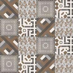 Textures Texture seamless | Patchwork tile texture seamless 16590 | Textures - ARCHITECTURE - TILES INTERIOR - Ornate tiles - Patchwork | Sketchuptexture