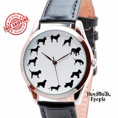 Dogs Watch. Dog Jewerly Watches. Mens Watch. by HandMadePeople