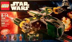 Lego Star Wars Clone Wars Bounty Hunter Assault Gunship Set 7930 (2011)