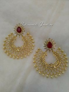 Gold Jewelry For Baby Boy Product Indian Jewelry Earrings, Indian Jewelry Sets, Jewelry Design Earrings, Gold Earrings Designs, Gold Jewellery Design, Necklace Designs, Jewelery, Gold Jewelry, India Jewelry
